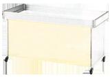 平台用カーテン W1500
