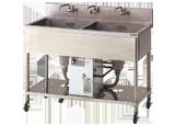 給湯器付流し台(2槽式) W900