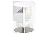 丸テーブル Φ450(白)