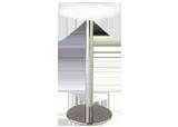 ハイテーブル Φ450(白)