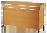 平台カウンター(木目) W1500